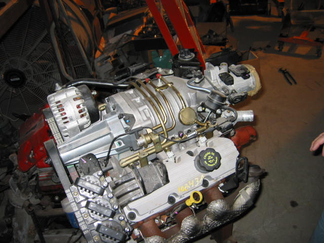 3800 v6 supercharged 0k  2200 01 Pontiac Grand AM Fuel Line